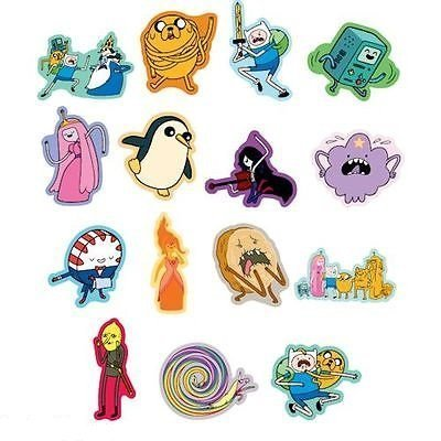 Adventure Time Stickers - Series 2-30 Large Stickers for Party Favors or Goodie Bags (Includes Jake, Finn, Princess Bubblegum, Ice King, BMO, Marceline, Lady Rainicorn and More.)(Discontinued) ()