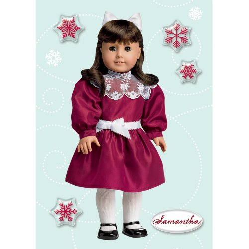 American Girl Crafts Samantha Parkington Holiday Bubble Stickers -