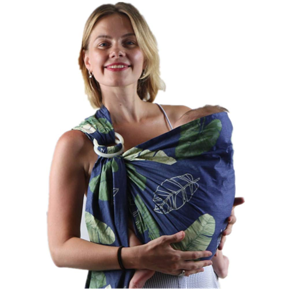 Labellevie Baby Wrap Organic Cotton Ring Sling Carrier for Newborns Nursing Cover J0599Y4