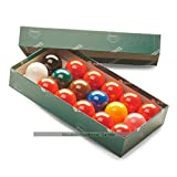 Aramith Snooker Balls (1 and 3/8 inch, 35mm, with 10 reds)