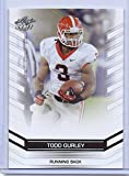 TODD GURLEY 2015 LEAF DRAFT ROOKIE CARD #11! GEORGIA BULLDOGS! 2015 NFL ROOKIE OF THE YEAR!