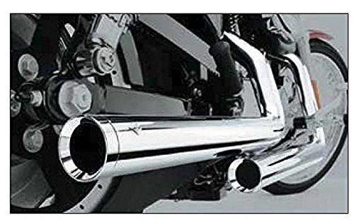98-04 SUZUKI VL1500: Cobra Dragsters Exhaust (Chrome) Cobra Dragster Drag Exhaust
