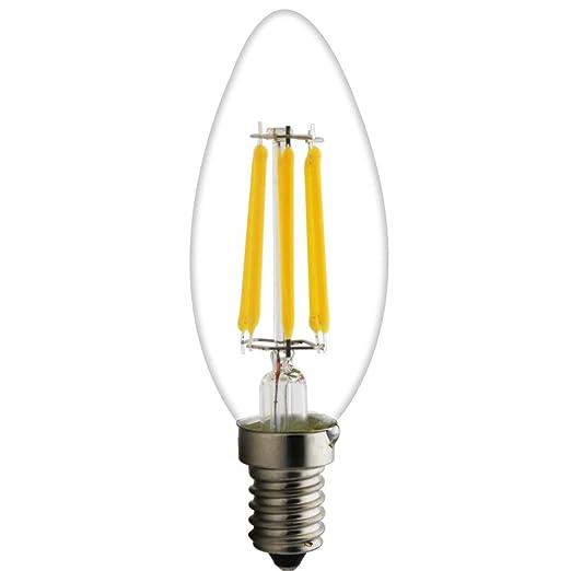 1 pieza C35 E14 LED Velas lámpara 6 W, 45 W bombillas ...