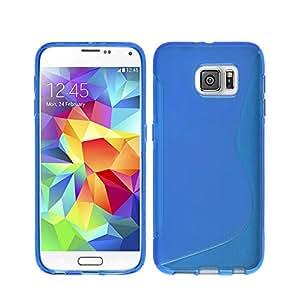 Lapinette SL-S7-BLEU - Carcasa tipo S-Line para Samsung Galaxy S7, color azul