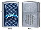 Personalized Ford Oval Logo Zippo Lighter with Free Monogram