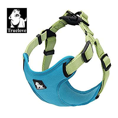 Pettom Front Range Dog Pet Harness Outdoor Adventure 3M Reflective Adjustable Protective Nylon Walking Vest Mesh Harness