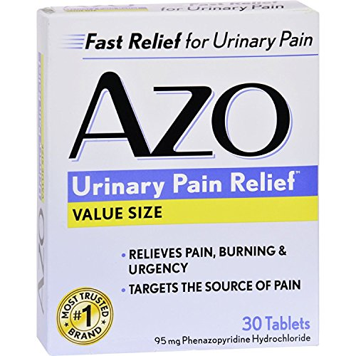 (Azo Standard Urinary Pain Relief - 30 Tablets)