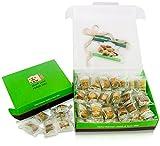 Gifts Flowers Food Best Deals - LUXURY BAKLAVA PASTRY SAMPLER SET (20 Oz) Hallab 1881, Taste the Unique, ORIGINAL Most Prestigious Assorted Baklava Sweets (Best Gift idea) (Gift Box 20 Oz, Baklava Variety Pack)