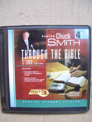 (Through the Bible C-2000 Series Student Version (Through the Bible))