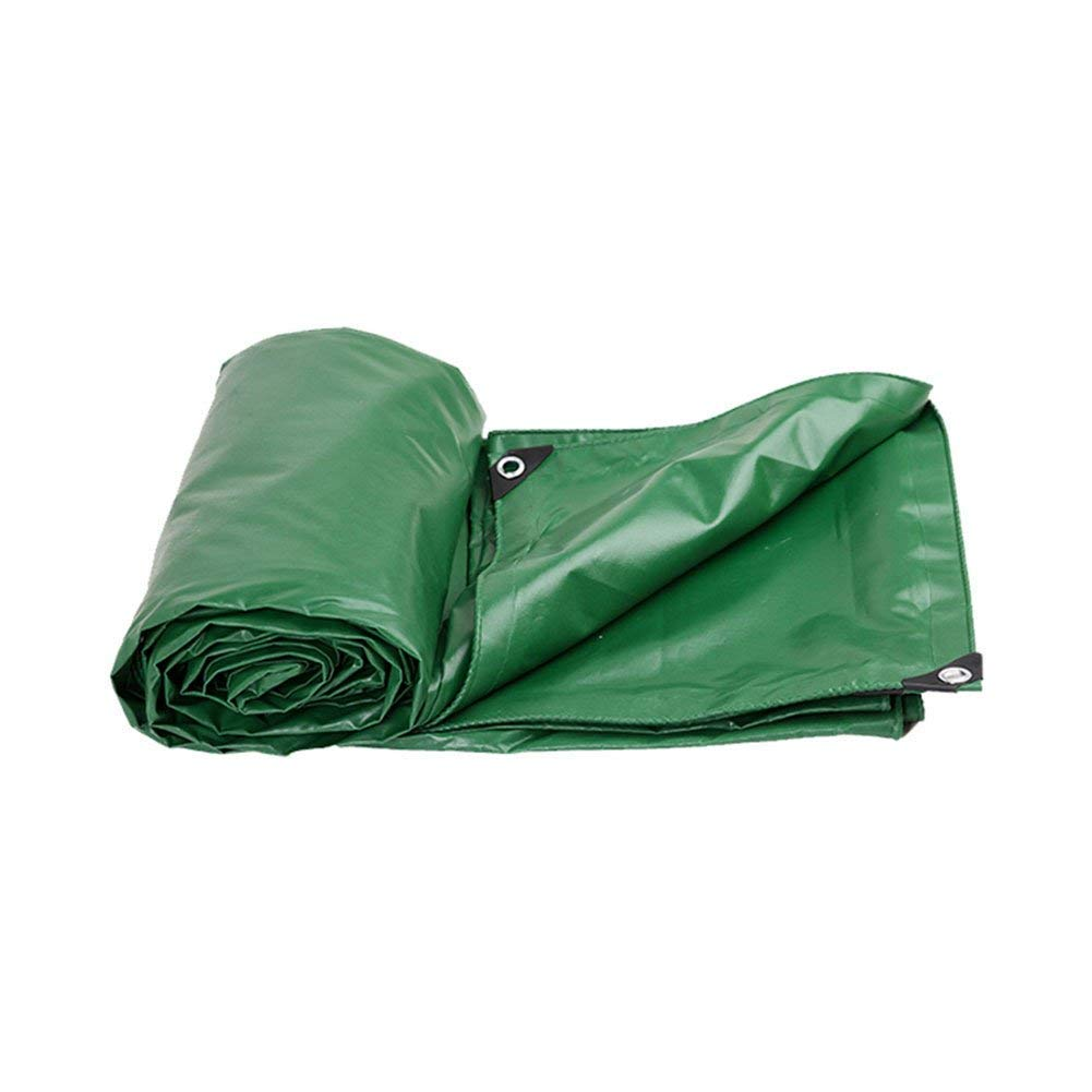WCS Heavyweight Padded Outdoor Rainproof Waterproof Sunscreen Frostschutzmittel wasserdichte Segeltuchplane, Stiefel, Camping, Dach oder überdachte oder überdachte Schwimmbadplane (550G   M2) in verschie