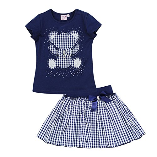 Sweet Style Soft Baby Girl Set Rose Pattern Tops And Shorts - 1