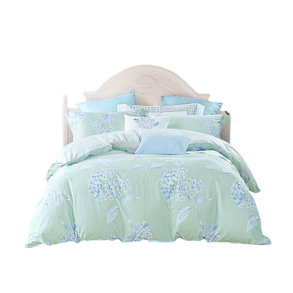 ダブルベッドカバー - 4つの綿の掛け布団カバーのホームベッドのセット (色 : C, サイズ さいず : 6FT) B07G3WBV1K C 6FT