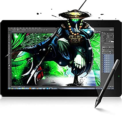 UGEE HK1560 15 6 Inches Pen Display IPS Drawing Monitor Dual Monitor with  Adjustable Stand
