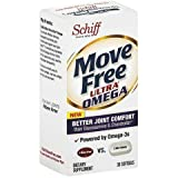 Move Free Ultra Omega Omega 3 Krill Oil, 30 Count (Pack of 4) , Move-gjky