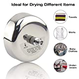 LETUZI Retractable Clothesline, 304 Stainless Steel Clothing Line Dryer with Adjustable Rope String for Hanging Drying Shower Room Bathroom Laundry Hotel Outdoor