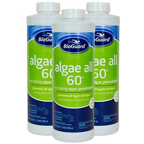 BioGuard Algae All 60 (1 qt) (3 Pack) by BioGuard