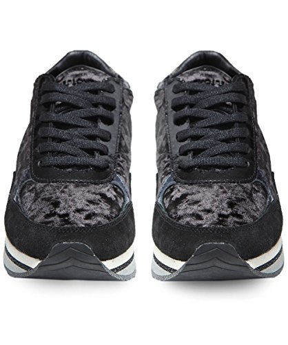Crime London Schuhe Speed Sneaker Schwarz Damen Schwarz