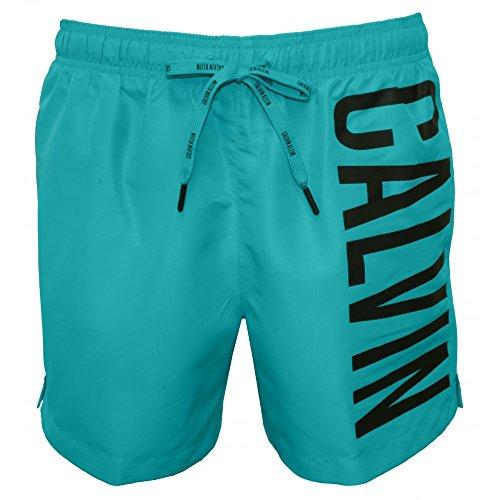 Calvin Klein Intense Power Casual Men's Swim Shorts, Bluebird Medium