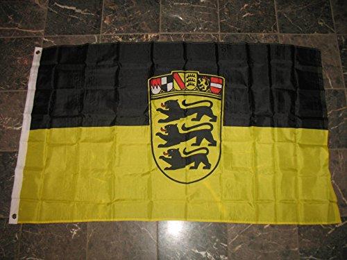- 3x5 German Germany Baden-Wurttemberg Bundeslander Flag 3'x5' Banner