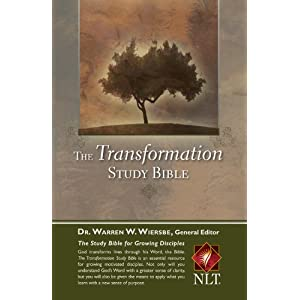 The Transformation Study Bible--Hardcover Warren W. Wiersbe