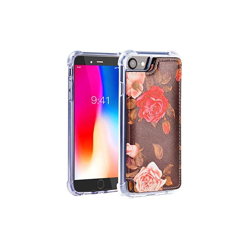 iPhone 8 Case,iPhone 8 Wallet Case,MISSC