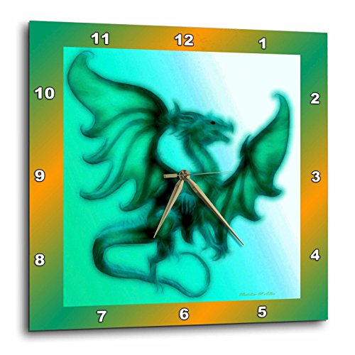 mystical dragon Wall Clock, Dragon   decorative accents