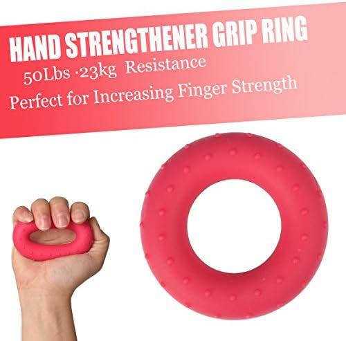 AB/_ CO/_ O Shape Ring Finger Power Strengthener Hand Grip Exercise Fitness Equipm
