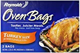 reynolds large oven bags - Reynolds Oven Bags, Turkey Size, 2 ct