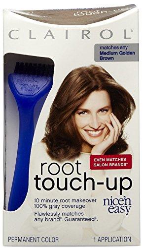 Clairol Nice 'N Easy Root Touch-Up Kit, Medium Golden Brown 5G (Easy N Nice Brush Clairol)