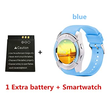 VIWIV Smart Watch V8 Bluetooth Smartwatch Reloj De Pulsera con ...