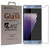 Dmg Samsung Galaxy Note 7 Tempered Screen Protector (2.5D Bubble-Free , No Fingerprints Anti-Scratch Oil Coated Washable) - *Not Cover Screen Edges
