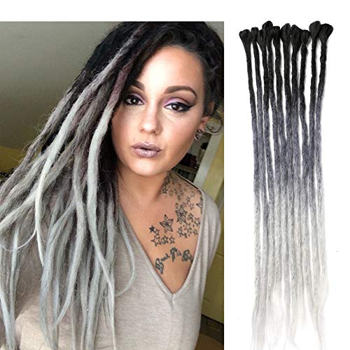 DAIRESS Handmade Dreadlocks Extensions Braiding product image
