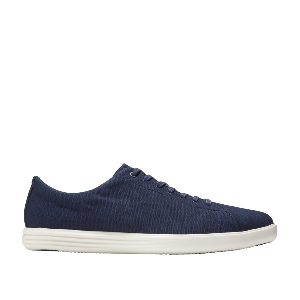 Marine bluee Canvas Cole Haan Men's Grand Crosscourt II Sneaker