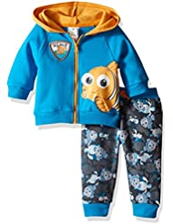 Disney Baby Boys' 2-Piece Finding Nemo Hoodie and Printed Jogger Set