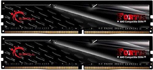 Pin Memory Desktop (G.SKILL FORTIS Series 16GB (2 x 8GB) 288-Pin DDR4 SDRAM DDR4 2400 (PC4 19200) (Desktop Memory) Model F4-2400C15D-16GFT)