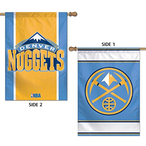 Wincraft NBA Denver Nuggets 2 Sided Vertical Flag, 28 x -