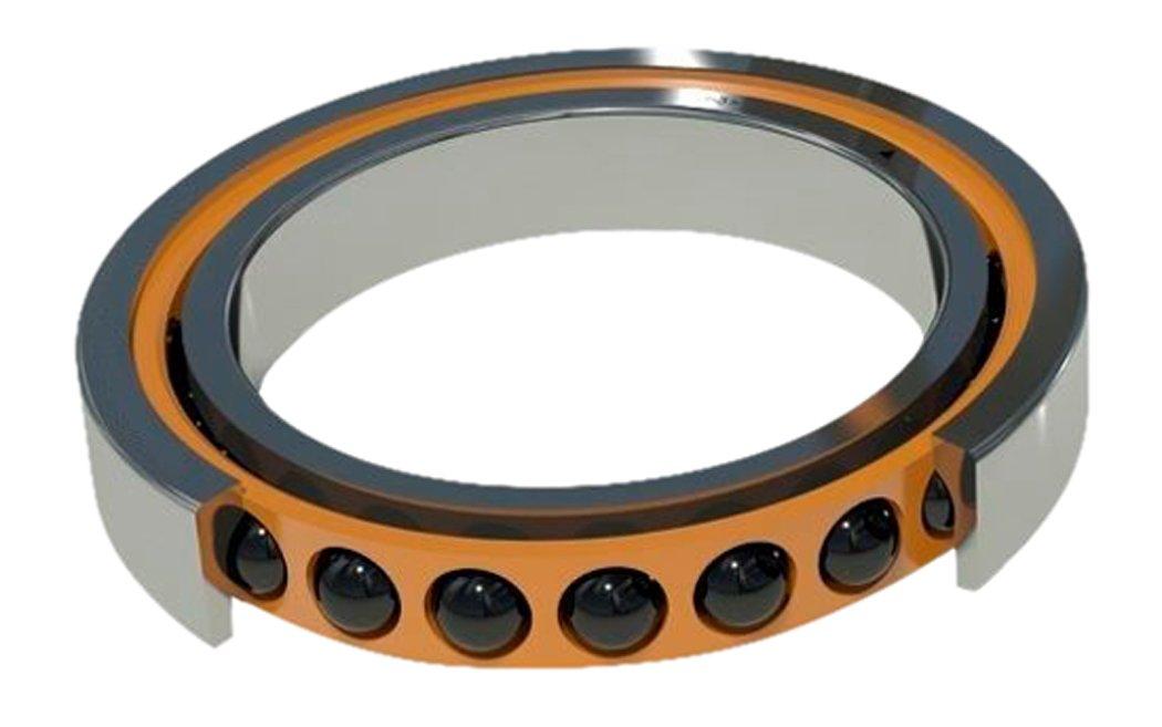 Medium Preload 90 mm OD Barden Bearings 210HEUM Single Ball Bearing 50 mm ID Contact Angle 25/° Spindle 90 mm Width BAR   210HEUM Angular Contact