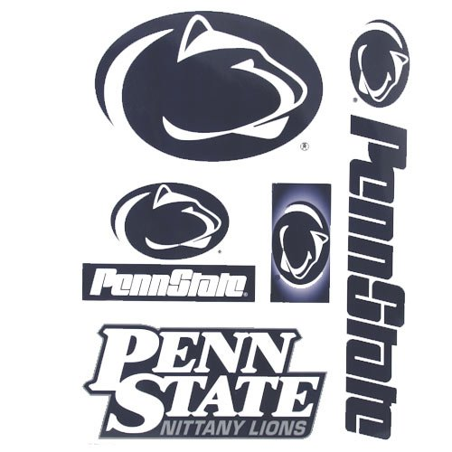 "WinCraft NCAA Penn State Nittany Lions Ultra Decal Sheet, 11""x17"", Team Color"
