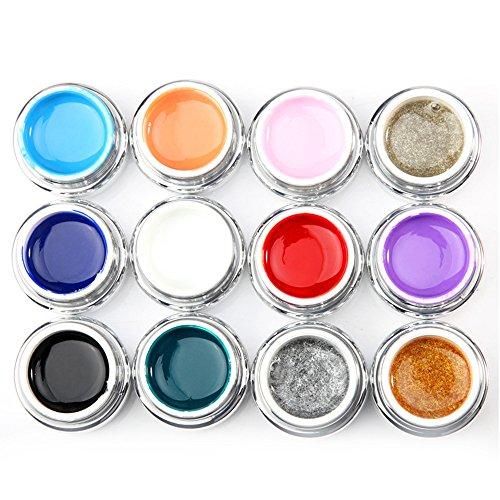 KingWo Hot Sale Soak Off 3D UV Sculpture Gel Long Lasting Carving Gel Modelling Color Nail Art Tips Creative Manicure Decoration (I) -