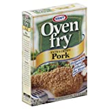 kraft oven fry pork - Kraft Oven Fry Extra Crispy Pork 4.2 Oz (Pack of 4)