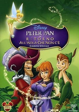 Peter pan ritorno all isola che non c e special edition amazon