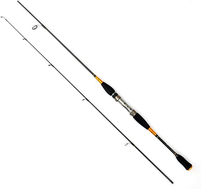 Zum accesorios, 1.8 m 2 segmentos caña de pesca carbono Spinning ...