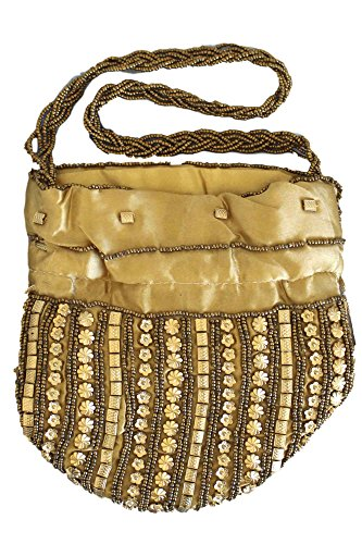 Indian Burlywood Batwa Potli Fancy indien Potli Bag Bag Burlywood PHB3002 wBa6OqXn