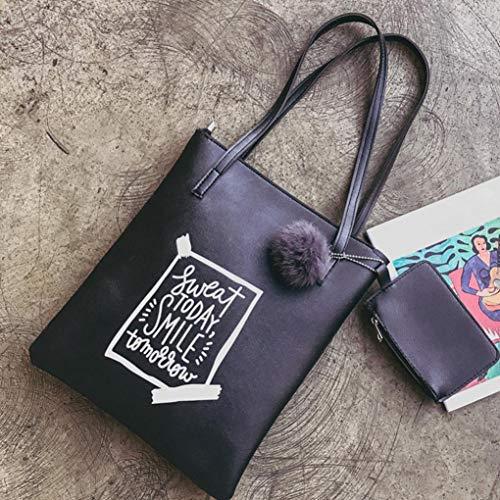 Noir à Handbag showsing pour Main Sac s Bleu Femme 8qqZdEr