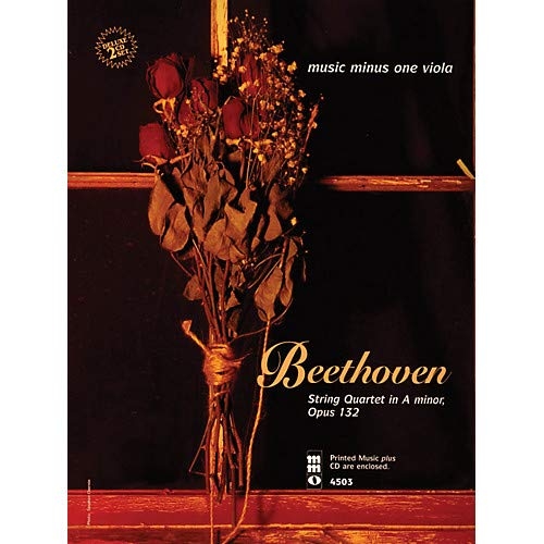 Beethoven - String Quartet in A Minor, Op. 132 Music Minus One Series Softcover with CD Pack of 2 ()