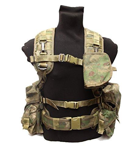 Russian army spetsnaz SPOSN SSO Smersh AK assault vest gear set A-tacs FG by SSO/SPOSN