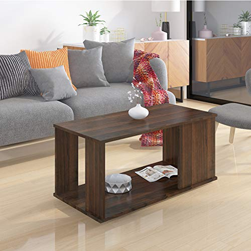 Klaxon Lupine Coffee Table/Centre Table – Walnut