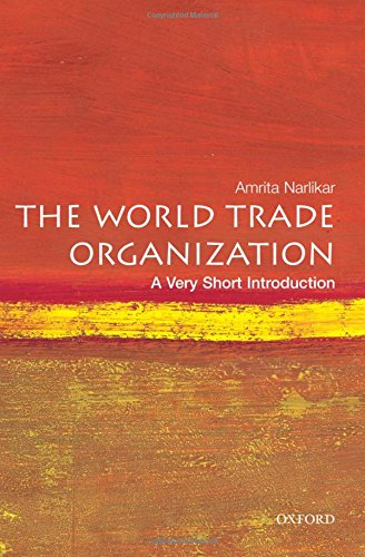 The World Trade Organization: A Very Short Introduction
