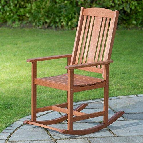 Jakarta Solid Wood Outdoor Garden & Patio Relaxing Rocker Chair