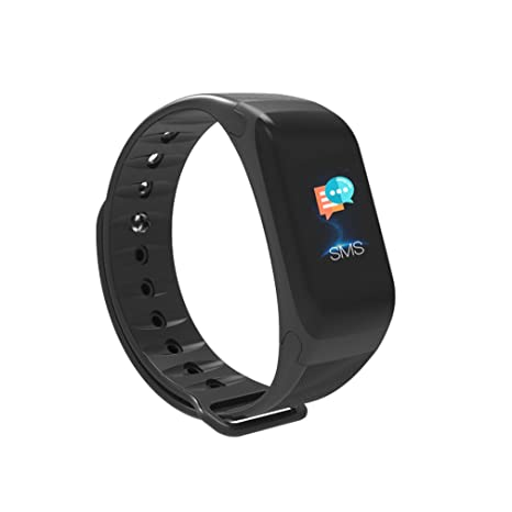 Fitness Tracker,Heart Rate Blood Pressure Sleep Monitor Activity Tracker  Health Wristband Color Screen Smart Band W/ Calorie Counter Waterproof